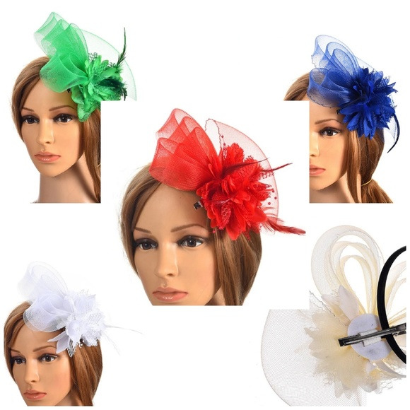 191fad5b6c7 Wedding Bridesmaids Guest Fascinators and Hats. Boutique